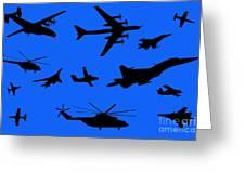 Russian Aviation Greeting Card