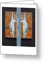 Rust Art 02 Greeting Card