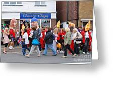 Rye Olympic Torch Relay Greeting Card
