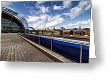 Sage Gateshead And Newcastle Skyline Greeting Card