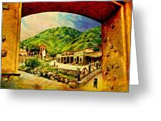 Saidpur Village Greeting Card