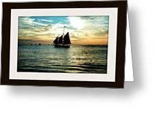 Sailboat Greeting Card by Bruce Kessler