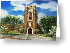 Saint Andrews Episcopal Church Bryan Texas Greeting Card