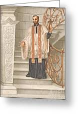 Saint Francis Xavier Greeting Card by John Alan  Warford