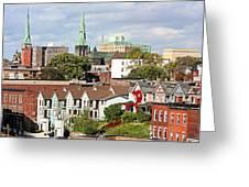 Saint John New Brunswick Greeting Card