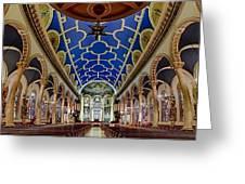 Saint Michael Church Greeting Card by Susan Candelario