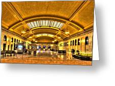 Saint Paul Union Depot Greeting Card