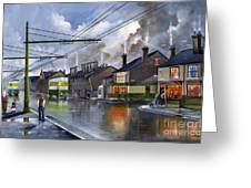 Salop Street Dudley C 1950 Greeting Card