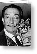 Salvador Dali (1904-1989) Greeting Card