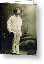 Samuel Langhorne Clemens (1835-1910) Greeting Card