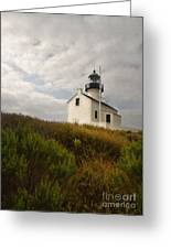San Diego Lighthouse Greeting Card