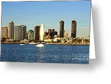 San Diego Greeting Card