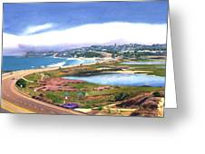 San Elijo And Hwy 101 Greeting Card