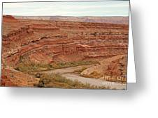 San Juan River Greeting Card