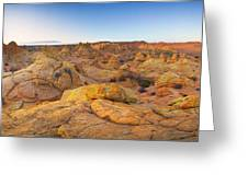 Coyote Buttes Arizona Greeting Card