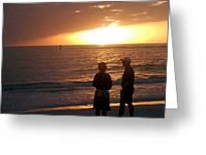 Sarasota Sunset Greeting Card