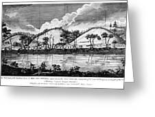 Saratoga: Encampment, 1777 Greeting Card