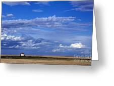 Saskatchewan Farmland Greeting Card by Mark Newman