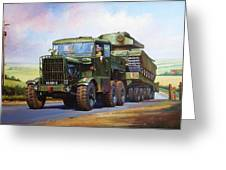 Scammell Explorer. Greeting Card