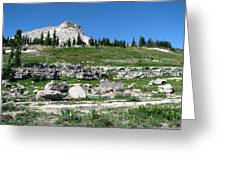 Scapegoat Amphitheater Greeting Card