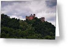 Schonburg Oberwesel Am Rhein Greeting Card
