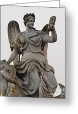 Sculpture Versailles Greeting Card