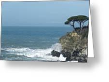 Sea Coast Greeting Card