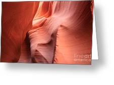 Sea Of Sandstone Greeting Card