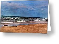 Sea Sand Wc Greeting Card
