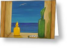 Sea View Two Greeting Card