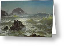 Seal Rock California Greeting Card