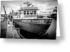 Seattle Fisherman Wharf Greeting Card