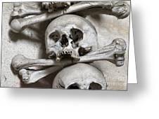 Sedlec Ossuary - Charnel-house Greeting Card