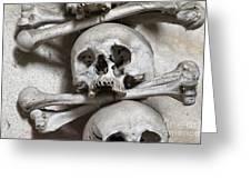 Sedlec Ossuary - Charnel-house Greeting Card