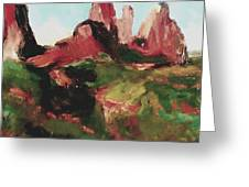 Sedona 89a Uptown Greeting Card