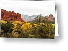 Sedona Panorama Greeting Card