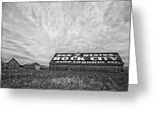 See Rock City - Farm In Tennessee Greeting Card