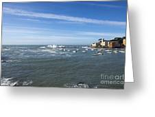 Sestri Levante With The Sea Greeting Card