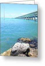 Seven Mile Bridge-2 Greeting Card