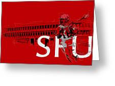 Sfu Art Greeting Card