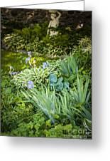 Shady Garden Greeting Card