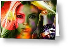 Shakira Greeting Card
