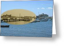 Shaw's Wharf At Sakonnet Point In Little Compton Rhode Island Greeting Card