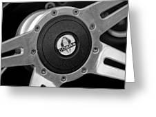Shelby Cobra Steering Wheel Greeting Card