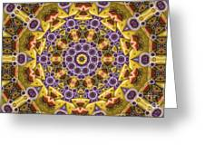 Kaleidoscope 43 Greeting Card