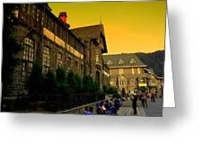 Shimla Town Hall Greeting Card
