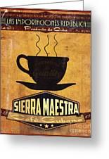 Sierra Maestra Cuban Coffee Greeting Card