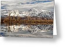 Sierra Reflections Greeting Card