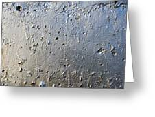 Silver Paint Texture Greeting Card