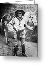 Sir Genille Cave Brown Cave (1869-1929) Greeting Card